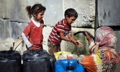 الأورومتوسطي: سكان غزة يتسممون ببطء و97% من المياه غير صالحة للشرب