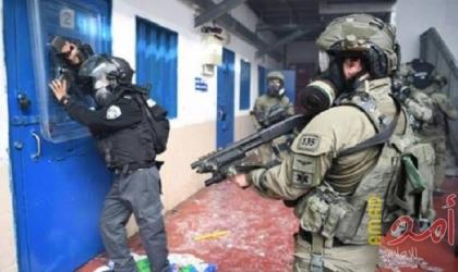 قوات القمع تقتحم قسم (6) في سجن النقب وتجري تفتيشات استفزازية