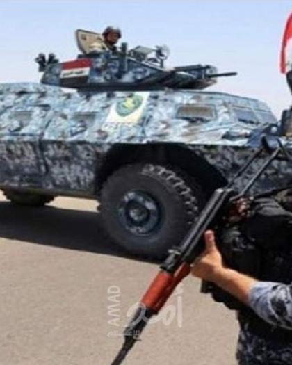 مقتل 13 عنصراً من الشرطة الاتحادية العراقية بهجوم لتنظيم داعش قرب كركوك