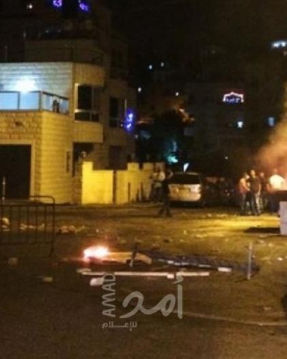 مواجهات في العيسوية وقوات الاحتلال تشن حملة اعتقالات في الضفة والقدس