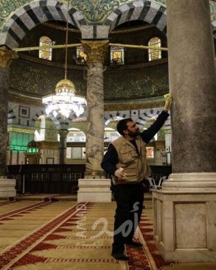 """""""الأوقاف الفلسطينية"""" تعلن إنتهاء الاستعدادات لاستقبال شهر رمضان في الأقصى"""
