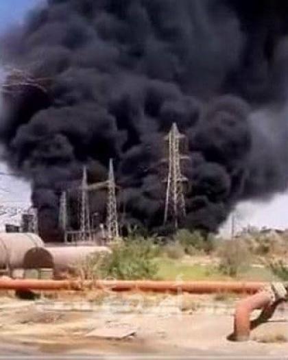 اندلاع حريق في مركز أبحاث تابع للحرس الثوري في طهران