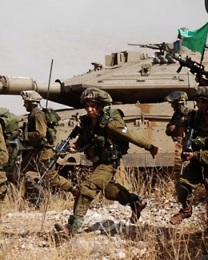 جيش الاحتلال ينهي مناورة عسكرية في مرتفعات الجولان والحدود اللبنانية