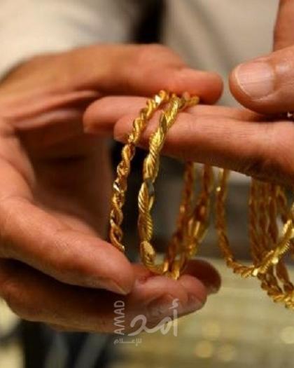 أسعار الذهب في أسواق فلسطين اليوم الأحد (صورة