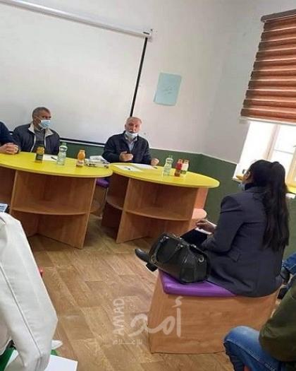 مركز حماية وتنمية الطفولة والمحكمة الشرعية يبحثان مناقشة نقل قضايا المشاهدة بين الأطفال بالمركز