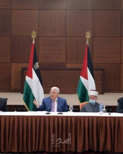 عباس: قررنا تأجيل الانتخابات الفلسطينية لحين الموافقة على اجرائها بالقدس - فيديو
