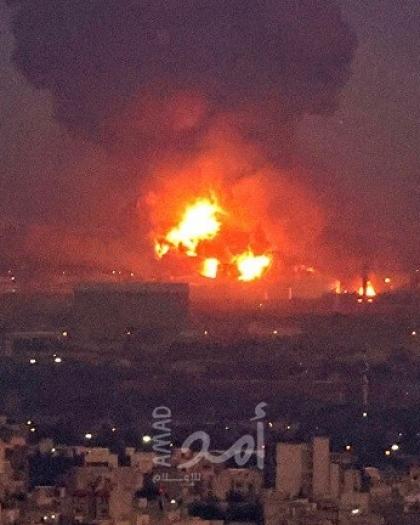 انفجار قوي يضرب غربي العاصمة الإيرانية