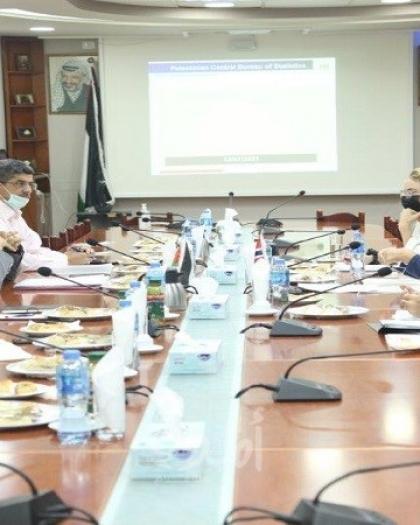 الإحصاء يعقد الاجتماع السنوي الثامن عشر مع أعضاء مجموعة التمويل الرئيسية للجهاز
