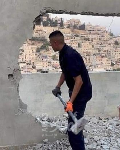 القدس: بلدية الاحتلال تُجبر مقدسيًا على هدم منزله في سلوان