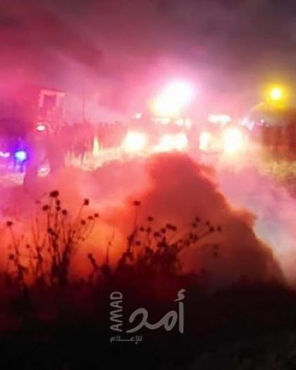 قوات الاحتلال تصيب عدد من المشاركين في فعالية الإرباك الليلي شرق جباليا