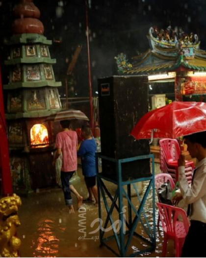 مقتل 6 أشخاص وتدمير 70 ألف منزل إثر فيضانات في تايلاند