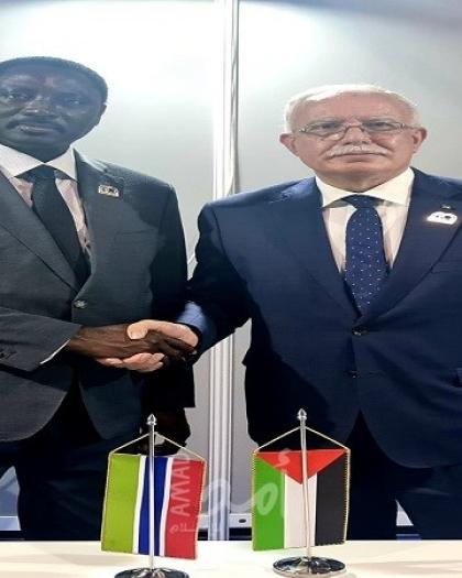 المالكي يُطالب المجتمع الدولي بتحمل مسؤولياته تجاه القضية الفلسطينية لمواجهة إسرائيل